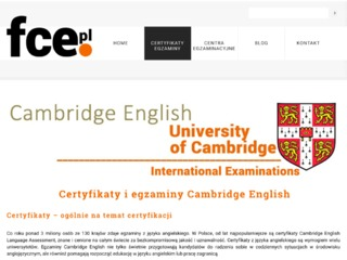 Egzaminy Cambridge English